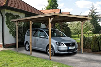 weka Einzelcarport 606 Gr.1: Amazon.de: Garten on