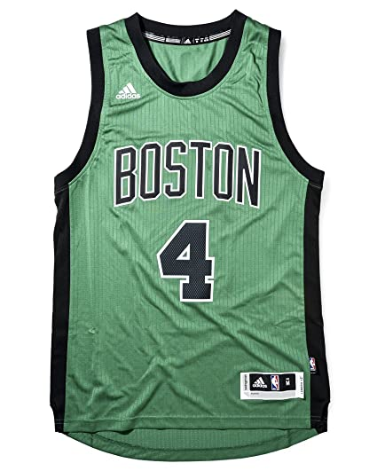 af51378d1 Adidas Men s Boston Celtics NBA Isaiah Thomas Swingman Jersey Green XX-Large