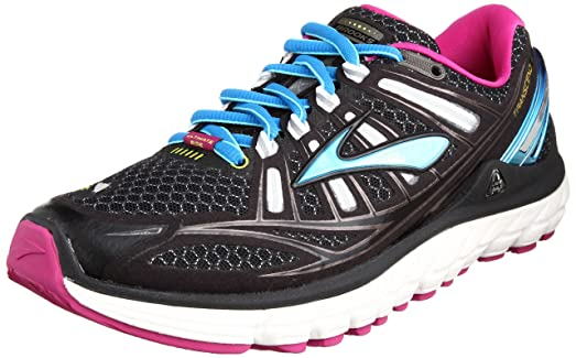 Brooks Womens Sneakers Black/White/Festival Fuchsia