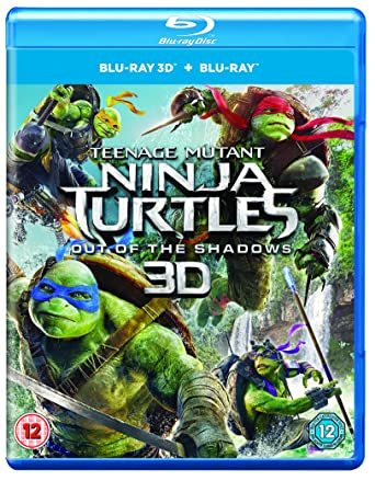 Tmnt Out Of The Shadows 2D 3D 2 Blu-Ray Edizione: Regno ...
