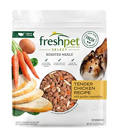 Freshpet Select Roasted Meals Chicken With Carrots And Spinach