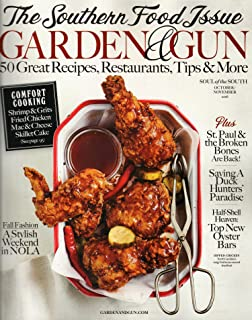 garden and gun magazine octobernovember 2016 southern food issue - Garden And Gun Magazine