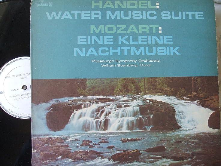 Handel: Water Music Suite / Mozart: Eine Kleine Nachtmusik - Amazon ...