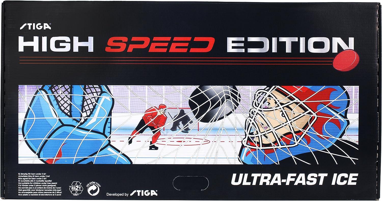 Stiga High Speed - Juego de Hockey de Mesa (90 x 50 x 8 cm), Color Negro: STIGA Tischspiel High Speed, schwarz, 90x50x8 cm: Amazon.es: Deportes y aire libre