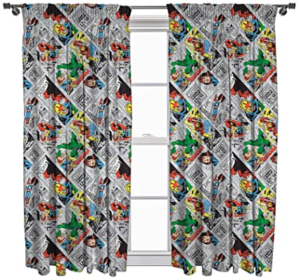 marvel comics retro curtains 72 - Retro Curtains