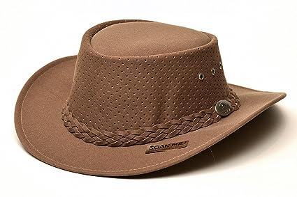 Amazon.com   Aussie Chiller Outback Bushie Golf Hat - Brown Camel ... c8775c436db