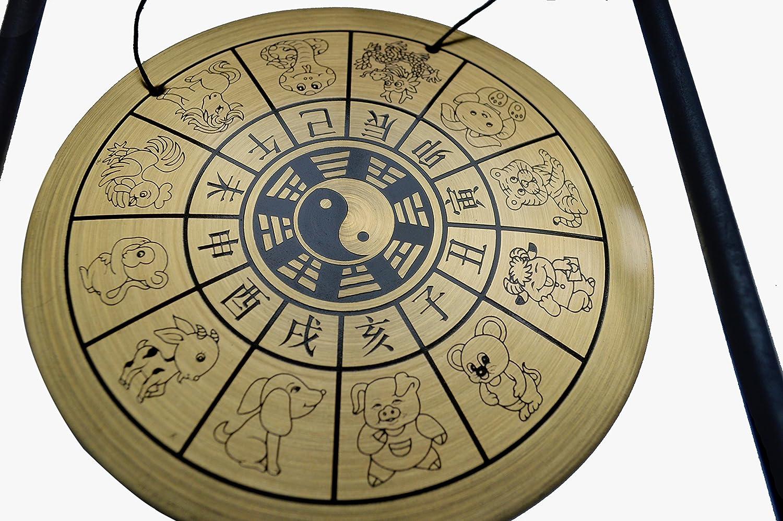 Zen Art Brass Feng Shui Desktop Zodiac Gong W Fengshuisale Red String Bracelet W1649