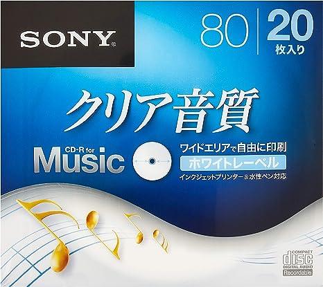 Amazon.com: Sony CD-R Audio, 5 Pack crm80hpws Series: Home ...