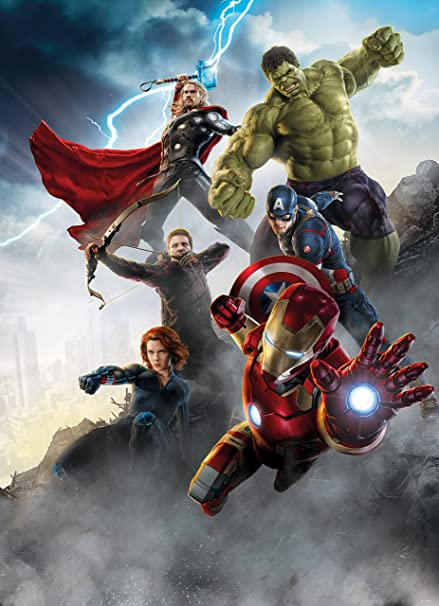 Wall Mural Photo Wallpaper AVENGERS AGE OF ULTRON 6x84quot