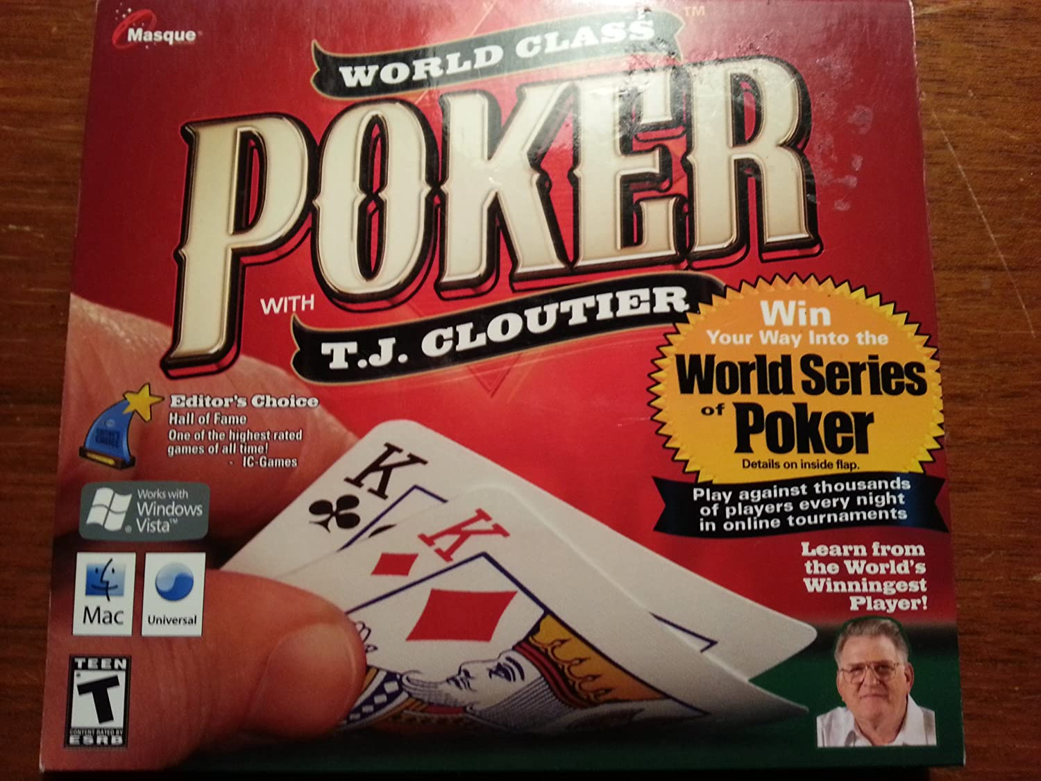 World class poker with tj cloutier review 60 inch round poker table cover
