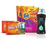 Tide Amazing Laundry Detergent Bundle (68 Loads): Tide PODS, Bounce Sheets and Downy Unstopables