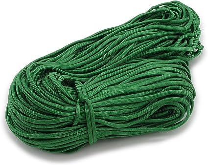 Paraco - Cuerda trenzada (2 m, 4 mm de grosor), color verde ...
