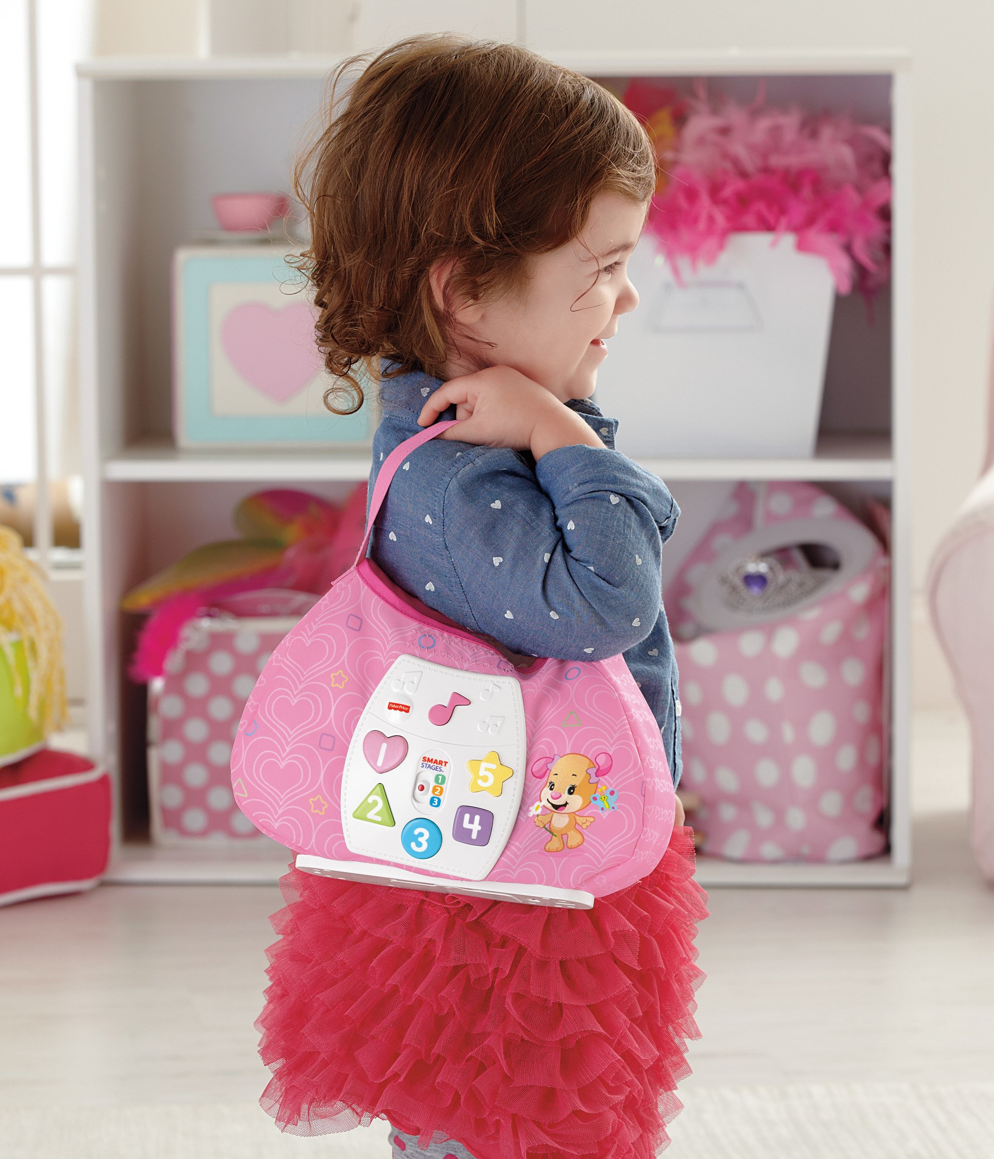 Fisher-Price Laugh & Learn Sis' Smart Stages Purse by Fisher-Price (Image #7)