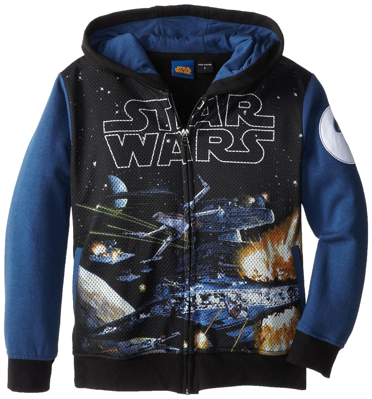 Amazon Star Wars Boys Hoo Black Navy 4 Clothing