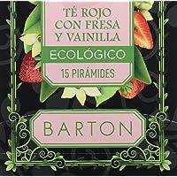 Barton Infusión Ecológica Té Rojo con Fresa