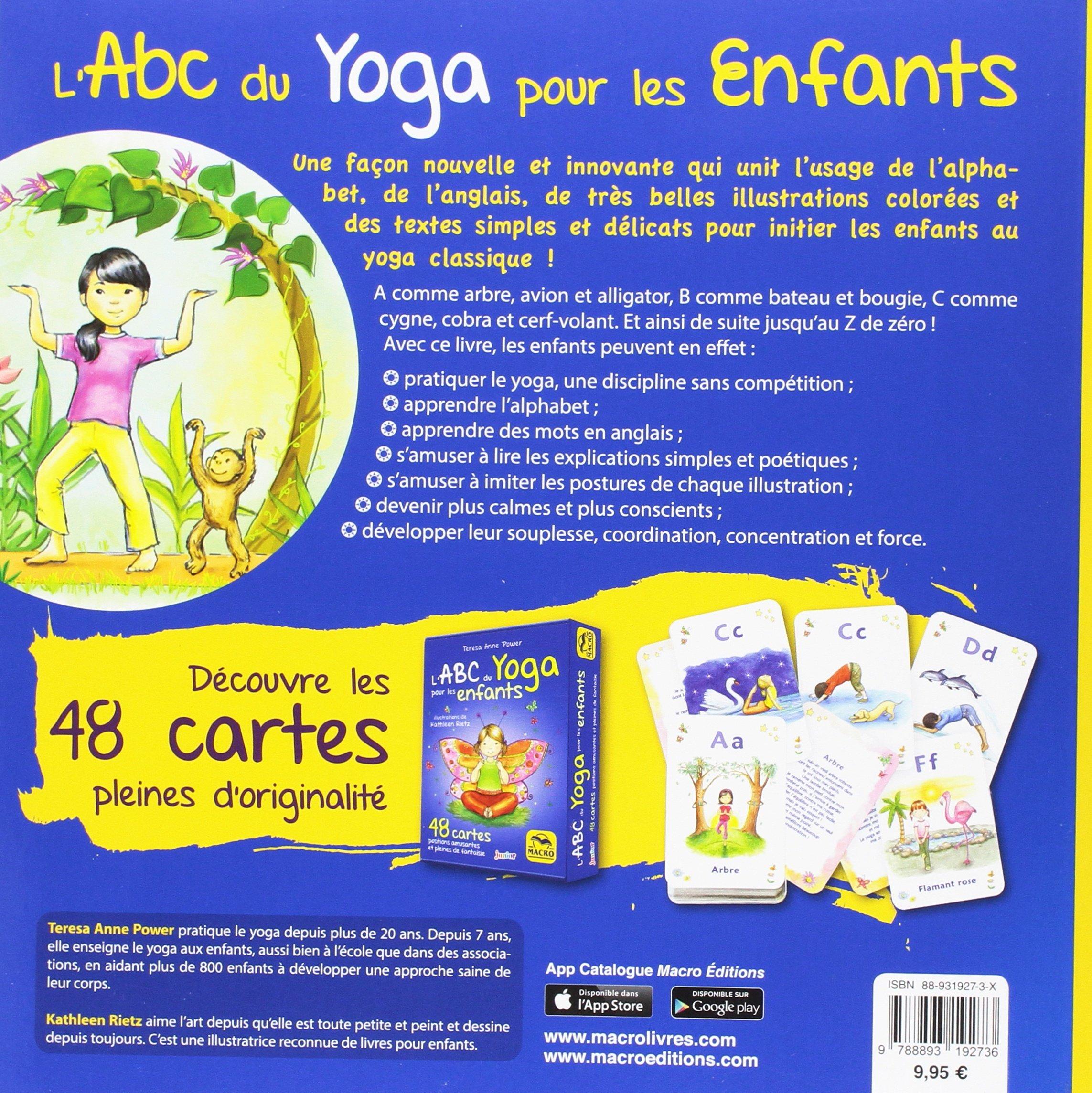 LABC du yoga pour les enfants - 67 postures rigolotes,et ...