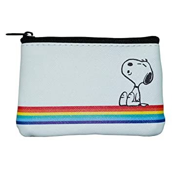 Peanuts Classic - Monedero (11 cm), Color Blanco: Amazon ...