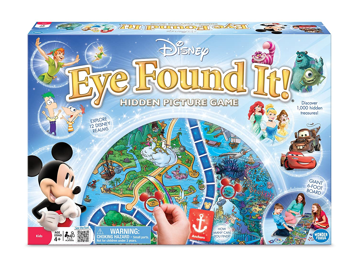world of disney eye found it board game - Hidden Pictures For 3 Year Olds