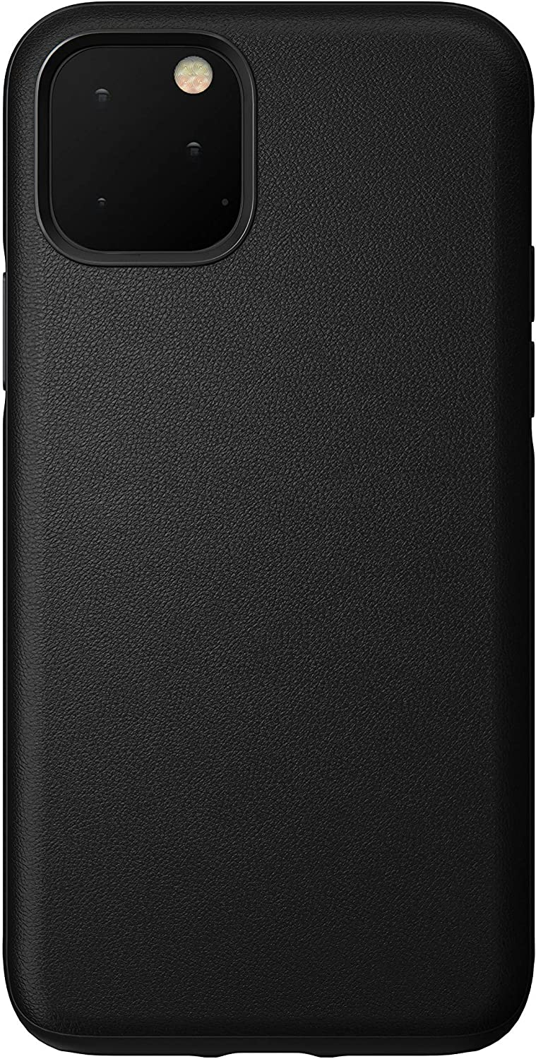 Nomad Rugged Case for iPhone 11 Pro | Black Heinen Active Leather