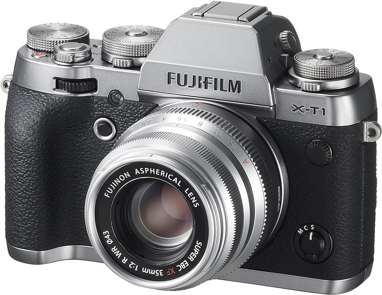 Fujifilm Fujinon Xf35mmf2 R Wr Objektiv Silber Kamera