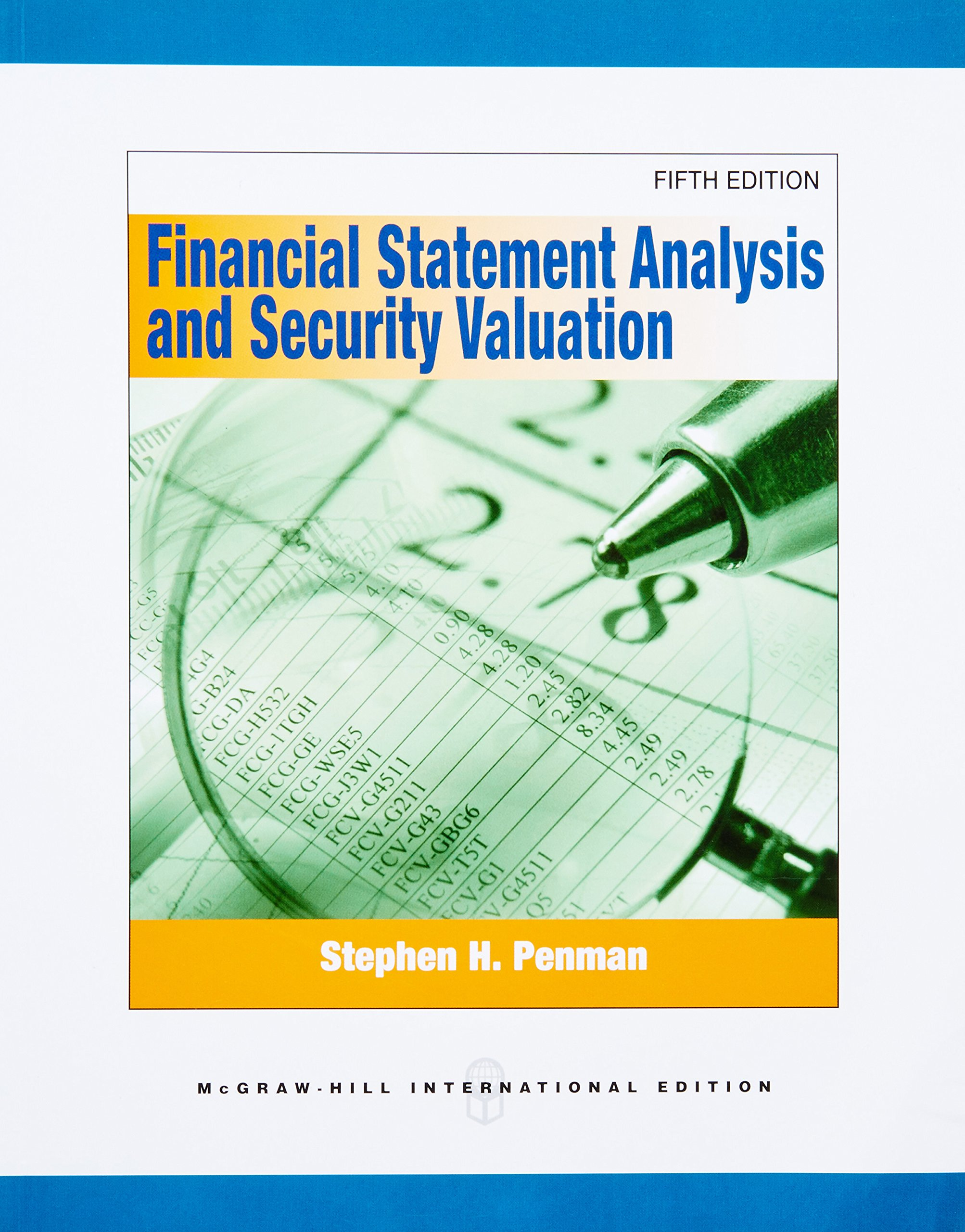 Buy Financial Statement Analysis And Security Valuation (Intu0027l Ed) Book  Online At Low Prices In India | Financial Statement Analysis And Security  Valuation ...