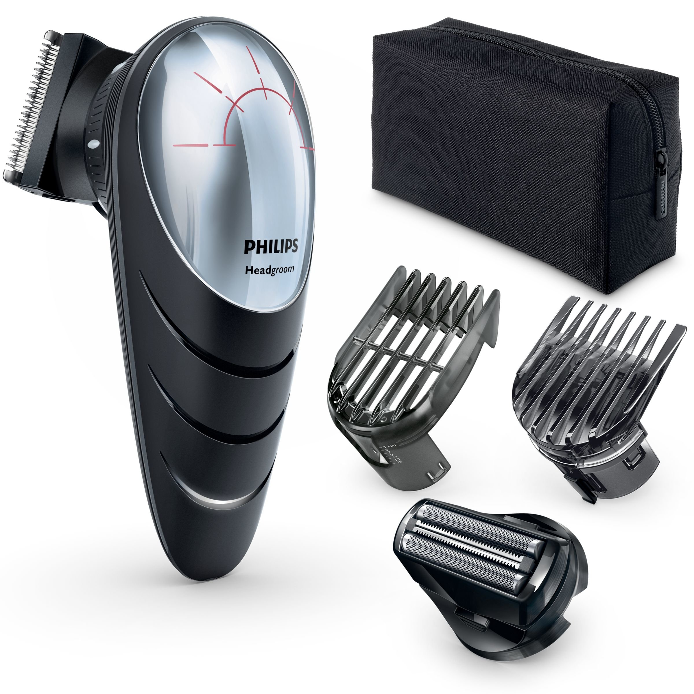 Philips QC5580/32 Tondeuse cheveux avec tête pivotante 180° et sabots réglables product image