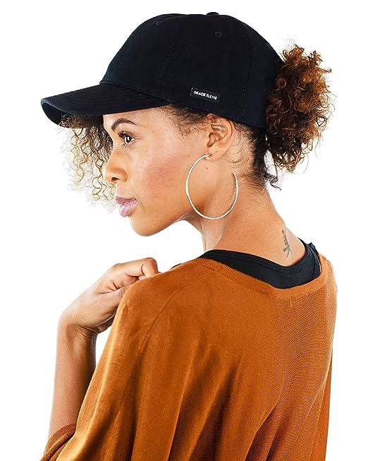 81a7b16b759 Grace Eleyae Women s Baseball Cap - Slap - Satin Lined Dad Hat ...