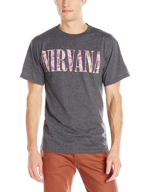 FEA Merchandising mens Nirvana Floral Logo T-shirt NV1559