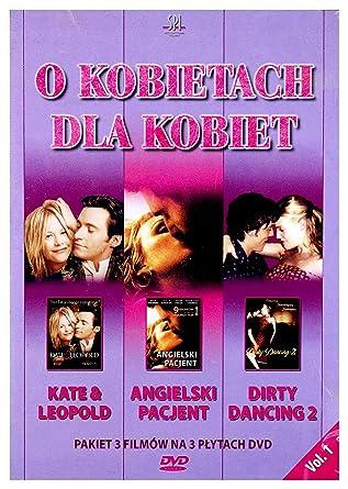 O kobietach dla kobiet: Kate i Leopold / Angielski Pacjent / Dirty Dancing 2 3DVD No hay versión española: Amazon.es: Ralph Fiennes, Juliette Binoche, Willem Dafoe, Kristin Scott Thomas, Naveen Andrews, Colin