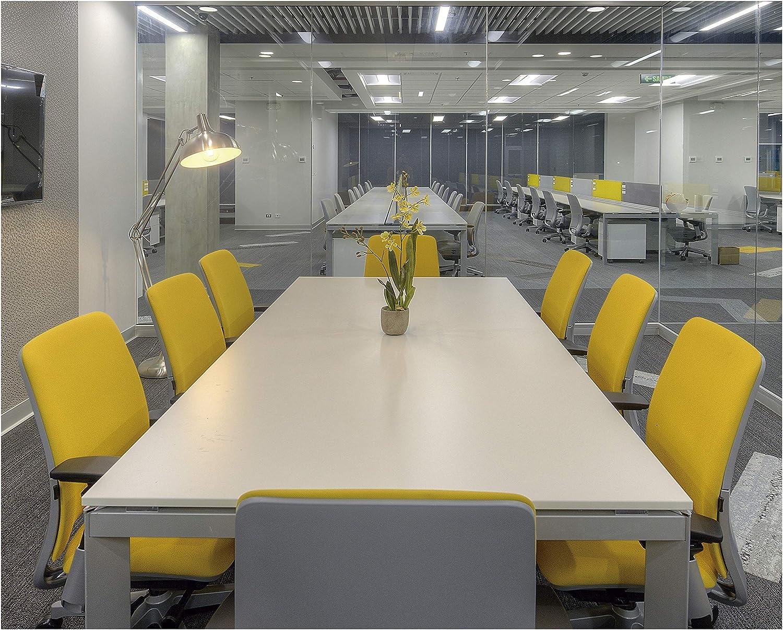 EXO Lighting L/ámpara pie de sal/ón MAUI n/íquel satinado portal/ámparas E27 oficinas sal/ón de estar y dormitorios. Flexo de pie ajustable para zonas de estudio