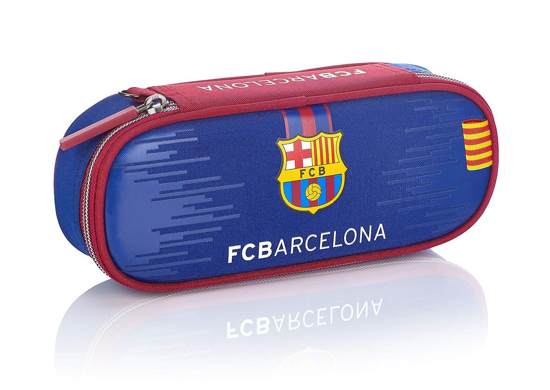 Estuche FC Barcelona FC-228 Fan 7 Color Azul Marino 23 cm
