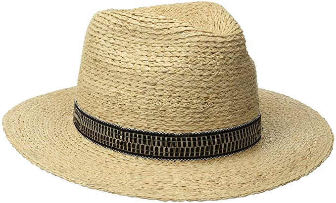 22a56f547d0 Amazon.com  Brixton Men s Tyler Fedora Hat  Clothing
