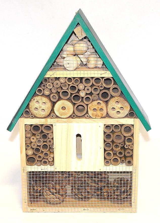 Refugio/Hotel/Casa para Insectos/Abejas/Bichos (C): Amazon.es: Jardín