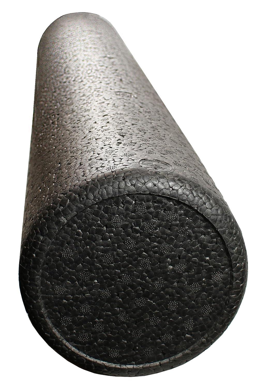 Schwarz High Density Foam Rollen Full rund – extra fest – 15,2 x 30,5 cm rund