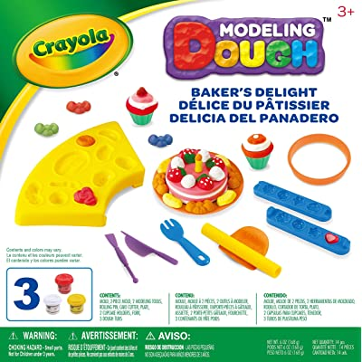 Crayola Modeling Dough Bakers Delight Kit - 14 pieces: Toys & Games
