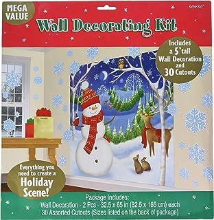 Escena navideña Setter Decoración complemento-Feliz Muñecos De Nieve 672154