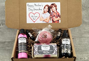 Amazon Com Personalized Photo Mother S Day Gift Box Mother S Day