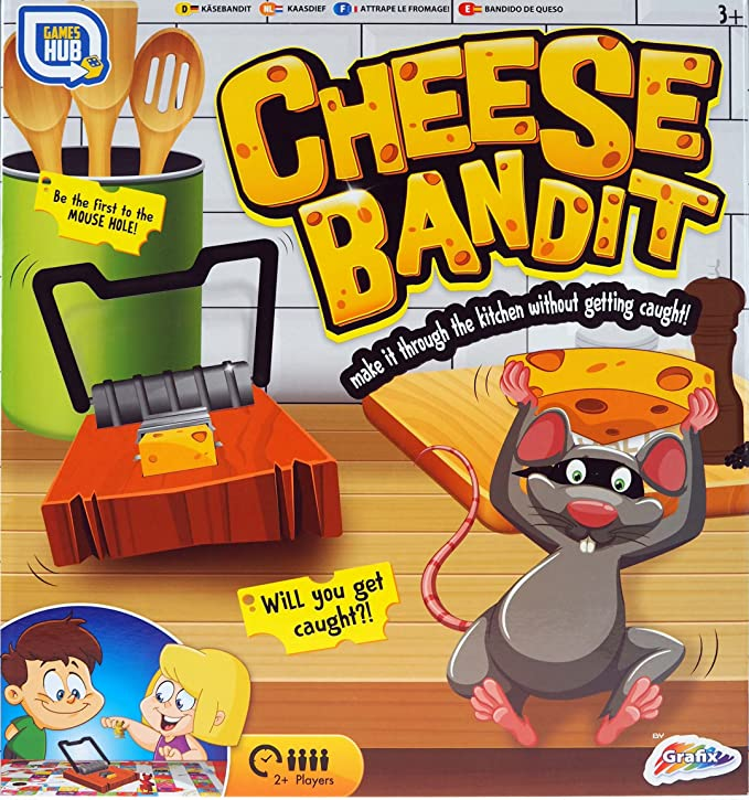 Juego de mesa familiar de Cheese Bandit: Amazon.es: Juguetes y juegos