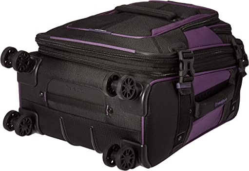 """cbc46f73bb47 Bold 21"""" Carry-on, Expandable Spinner Luggage with Easy-Access Tablet  Sleeve, Gray/Black"""