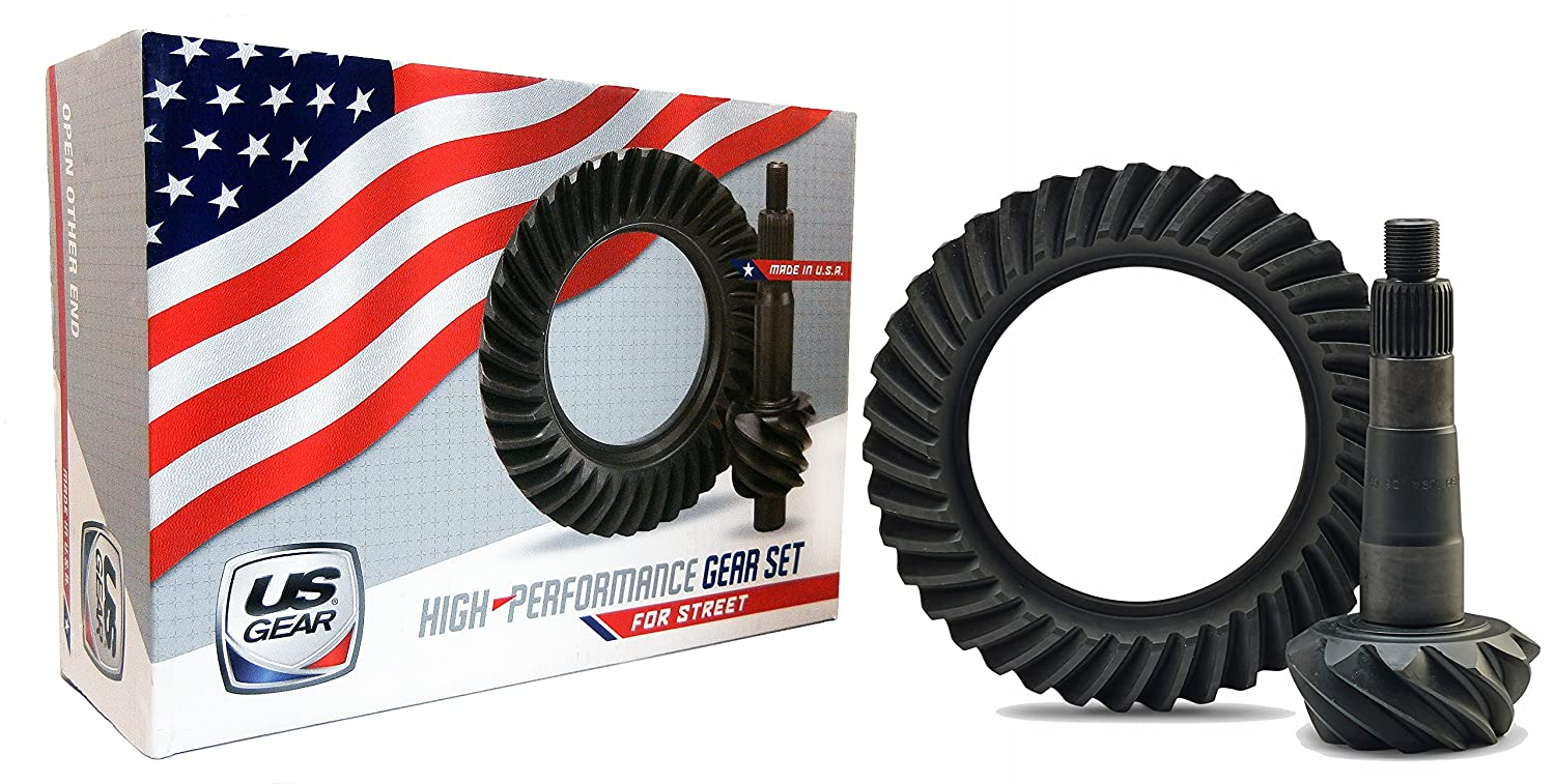 4.11:1 Ratio, 12 Bolt US Gear 01-888411 Ring and Pinion Set Made in the USA