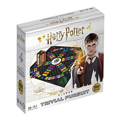 Winning Moves Harry Potter Ultimate Trivial Pursuit Board Game: Toys & Games