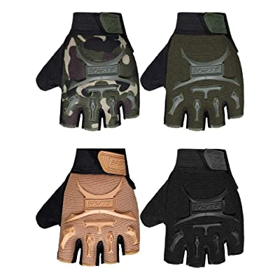 Kids Cycling Gloves Pair Sports Junior Child Full Finger Gloves Mountain Scooter