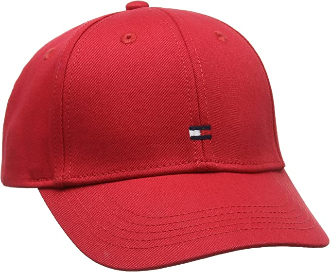 Tommy Hilfiger Classic BB Cap Gorra, Rojo (Tommy Red 614), Medium ...