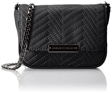 41d9db954781 A X Armani Exchange Quilted Pu Crossbody