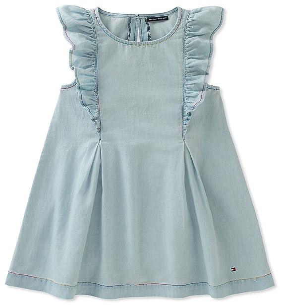 Amazon.com: Tommy Hilfiger - Vestido vaquero para niña: Clothing