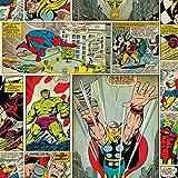 Graham & Brown Papier-Tapete marvel comic strip Kollektion Kids Home IV, mehrfarbig, 70-264