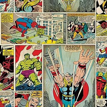 Papier Peint Bd Marvel