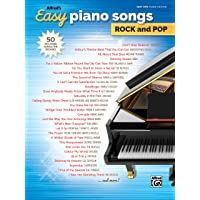 Alfred's Easy Piano Songs Rock & Pop: 50 Hits from Across the Decades