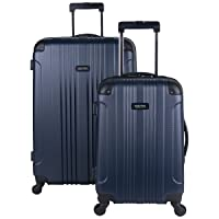 Deals on 2Pc Kenneth Cole Reaction Out Of Bounds 4-Wheel Spinner Luggage