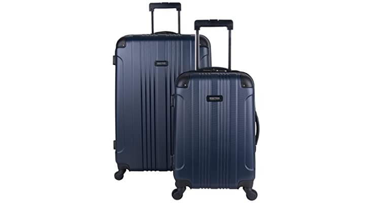 c7e12574c Kenneth Cole Reaction Out Of Bounds 2-Piece Lightweight Hardside 4-Wheel  Spinner Luggage